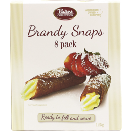 Photo of Bakers Collection Brandy Snaps 8s 125gm