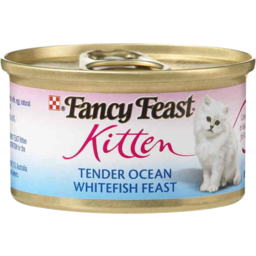 Photo of Fancy Feast Kitten Tender Ocean Whitefish Feast 85gm