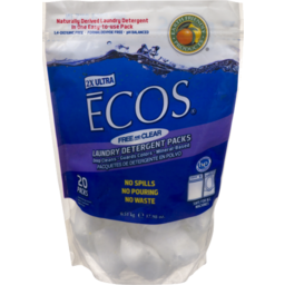 Photo of Ecos Laundry Detergent Pods Free And Clear 2x Ultra