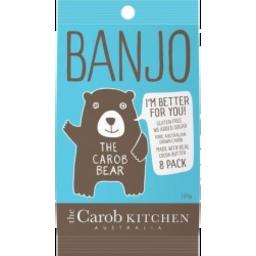 Photo of THE CAROB KITCHEN Banjo Carob Bear Multipack 120gm
