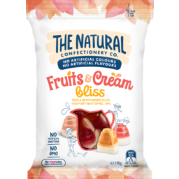 Photo of The Natural Confectionary Company Fruits & Cream Bliss 190g