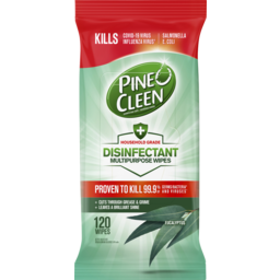 Photo of Pine O Cleen Disinfectant Multipurpose Wipes Eucalyptus 120 Pack