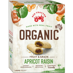 Photo of Red Tractor Bar Apricot Raisin