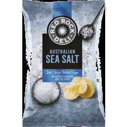 Photo of Red Rock Deli Sea Salt Potato Chips 165g