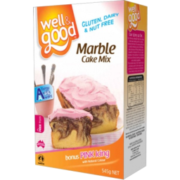 Photo of Well And Good Cake Mix Marble 460gm
