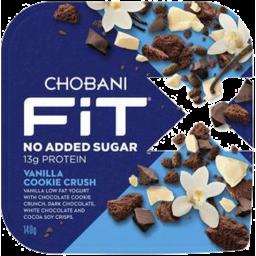Photo of Chobani Fit X Vanilla Cookie Crush 140g