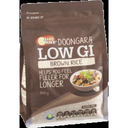 Photo of Sunrice Doongara Low Gi Brown Rice 750g