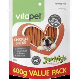 Photo of Vitapet Dog Treats Chicken Sticks 400g