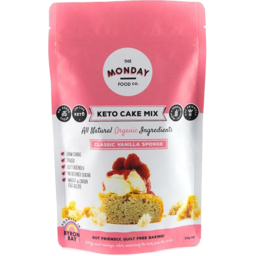 Photo of The Monday Food Co - Keto Pancake Mix - Vanilla Sponge - 250g