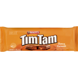 Photo of Arnott's Tim Tam Chewy Caramel Biscuits 175g