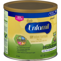 Photo of Enfamil Soy Infant Formula Milk-Free Lactose-Free Powder With Iron Prosobee