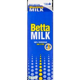 Photo of Betta Whole Milk Carton 1L