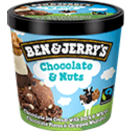 Photo of Ben & Jerrys Chocolate Nuts 120ml