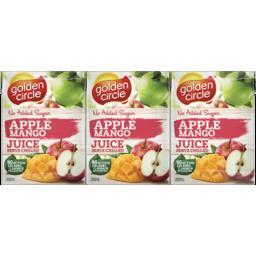 Photo of Golden Circle® Apple Mango Juice No Added Sugar 6x200ml
