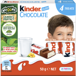Photo of Kinder Chocolate Little Ones 4g