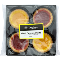 Photo of Drakes Jam Mixed Tarts 4 Pack 180g