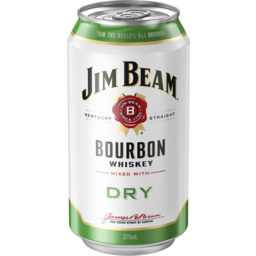 Photo of Jim Beam White & Dry Can