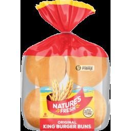 Photo of Nature's Fresh Buns King Burger Original 8 Pack