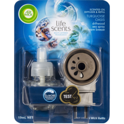 Photo of Air Wick Life Scents Electric Plug In Diffuser System Turquoise Oasis 19ml