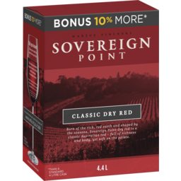 Photo of Sovereign Point Dry Red
