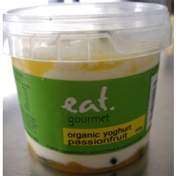 Photo of Eat Gourmet P/Fruit Org Yog 550gm