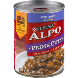 Photo of Purina Alpo Prime Cuts In Gravy Homestyle With Beef Dog Food