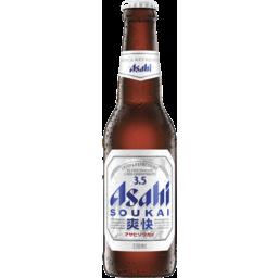 Photo of Asahi Soukai 3.5% Bottle 330ml