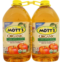 Photo of Mott's Organic Apple Juice