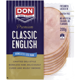 Photo of Don® Premium Classic English Leg Ham 200g