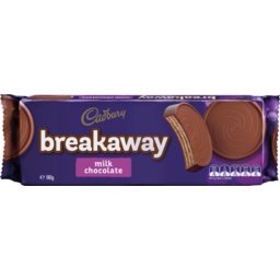 Photo of Cadbury Breakaway Milk Chocolate Biscuits 180g