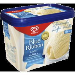 Photo of Blue Ribbon Reduced Fat Ice Cream Light Vanilla 2l