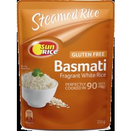 Photo of Sun Rice Basmati Rice 90 Seconds Microwave 250g