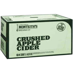 Photo of Monteith's Crushed Apple Cider Stubbies