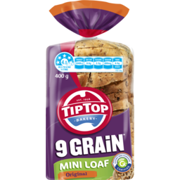 Photo of Tip Top® 9 Grain Mini Loaf Original 400g