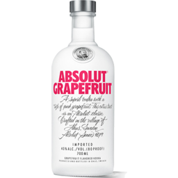 Photo of Absolut Vodka Grapefruit