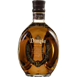 Photo of Dimple Blended Scotch Whisky Aged 15 Years 700ml