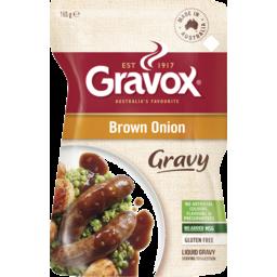 Photo of Gravox Liquid Gravy Brown Onion  165g