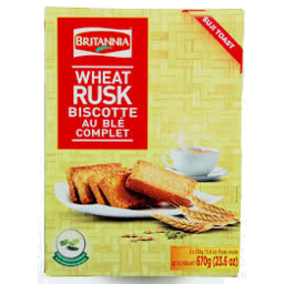 Photo of Britannia Wheat(Suji) Rusk 610g