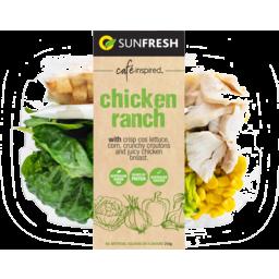 Photo of Sunfresh Chicken Ranch Salad 210g