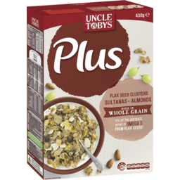 Photo of Uncle Tobys Plus Omega 3 Breakfast Cereal 430g