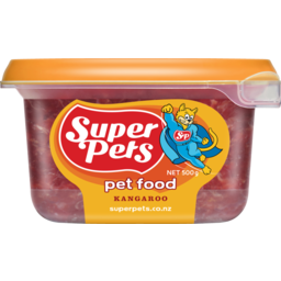 Photo of Superpet Chunkie Pet Food Kangaroo 500g