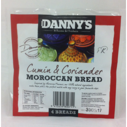 Photo of Danny's Bread Moroccan 4 Pack