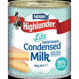 Photo of Nestle Highlander Milk Condensed Lite 400g