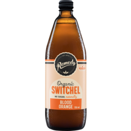 Photo of Remedy Organic Switchel Blood Orange 750ml