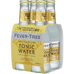 Photo of Fever Tree Indian Tonic Water