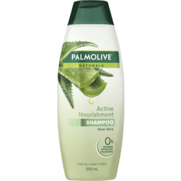 Photo of Palmolive Naturals Hair Shampoo Active Nourishment Aloe Vera 350ml