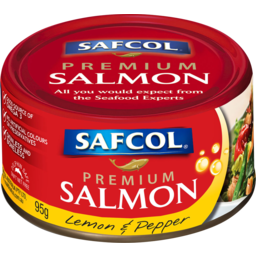 Photo of Safcol Premium Salmon Lemon Pepper 95gm