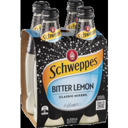 Photo of Schweppes Classic Mixers Bitter Lemon 4x300ml