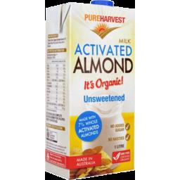 Photo of Pureharvest Almond Milk - Activated (Unsweetened)