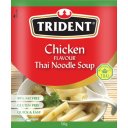Photo of Trident Chicken Flavour Thai Noodle Soup (Gluten Free) 50g 50g